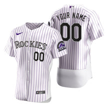 Load image into Gallery viewer, Colorado Rockies White Jersey