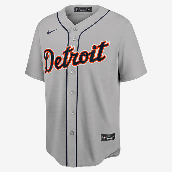 Detroit Tigers Gray Road 2020 Team Jersey