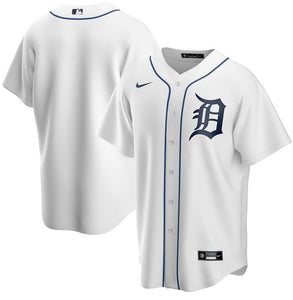 Detroit Tigers White Home 2020 Team Jersey