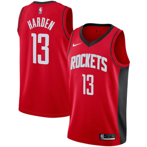 Houston Rockets Red Team Jersey - Icon Edition