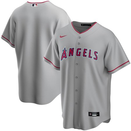 Los Angeles Angels Silver Road 2020 Team Jersey