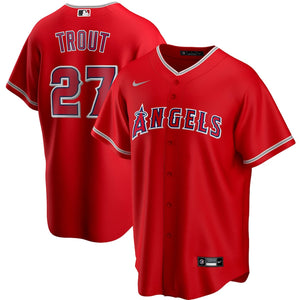 Los Angeles Angels Red Alternate 2020 Team Jersey