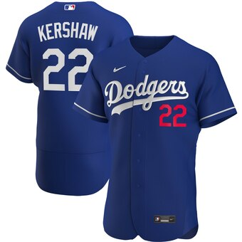 Los Angeles Dodgers Royal Alternate 2020 Team Jersey