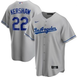 Los Angeles Dodgers Gray Alternate 2020 Team Jersey