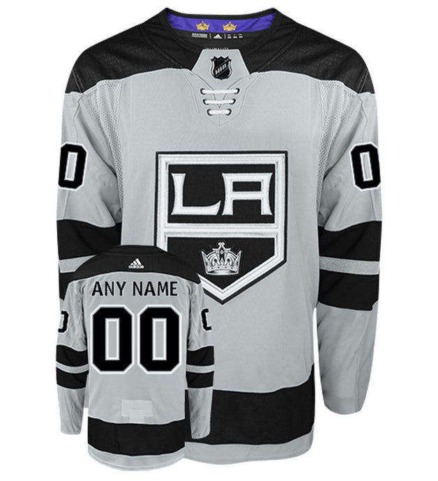 Los Angeles Kings Grey Alternate Team Jersey