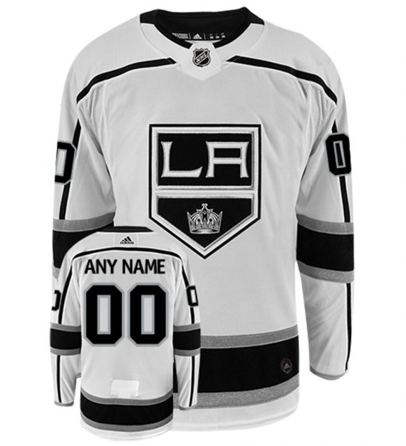 Los Angeles Kings Away White Team Jersey