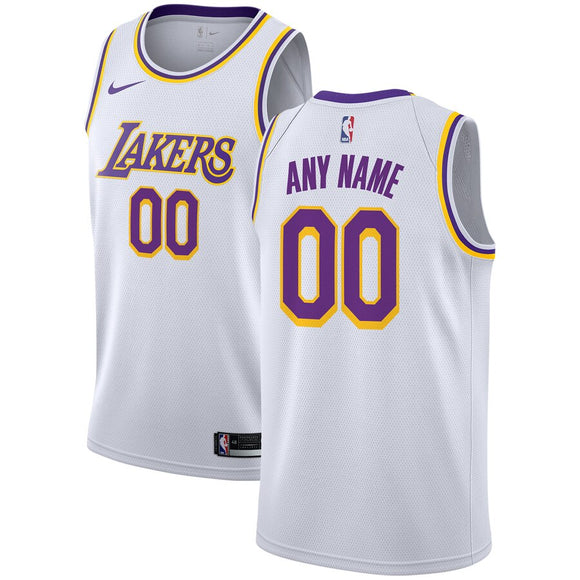 Los Angeles Lakers White Team Jersey - Association Edition
