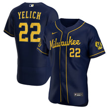 Load image into Gallery viewer, Milwaukee Brewers Navy Alternate 2020 Team Jersey
