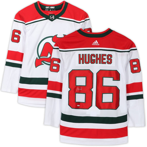 New Jersey Devils White Alternate Heritage Team Jersey
