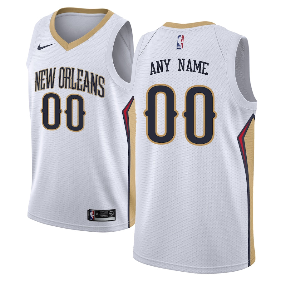 New Orleans Pelicans White Team Jersey - Association Edition