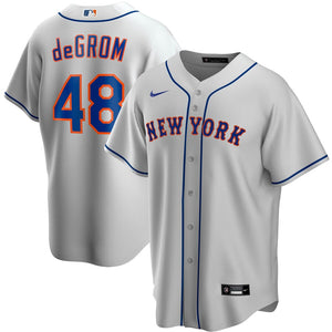 New York Mets Gray Road 2020 Team Jersey