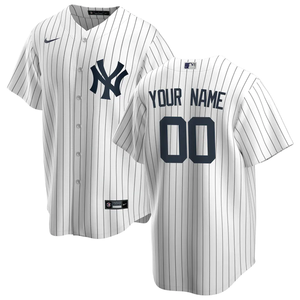 New York Yankees White/Navy Home 2020 Team Jersey