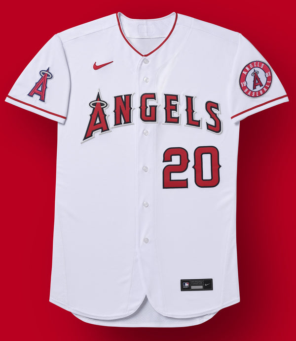 Los Angeles Angels White Home 2020 Team Jersey