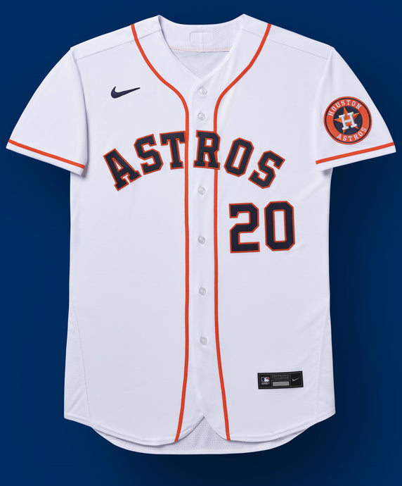 Houston Astros White Home 2020 Team Jersey