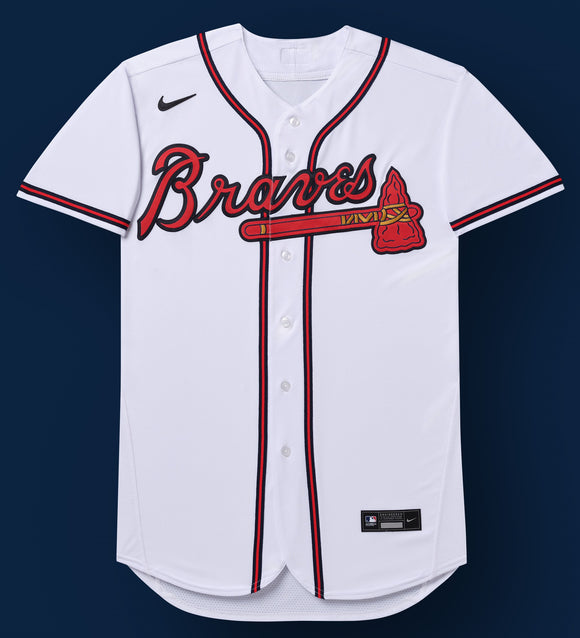 Atlanta Braves White Home 2020 Jersey