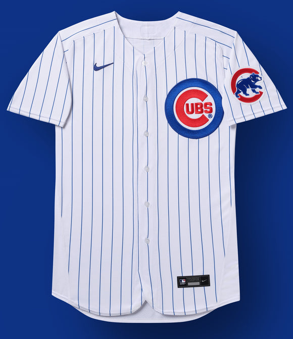 Chicago Cubs White/Royal Home 2020 Jersey