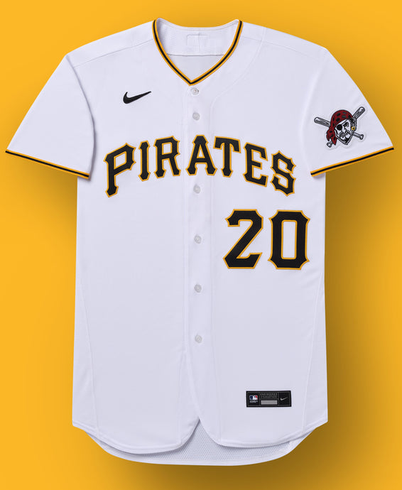 Pittsburgh Pirates White Home 2020 Team Jersey