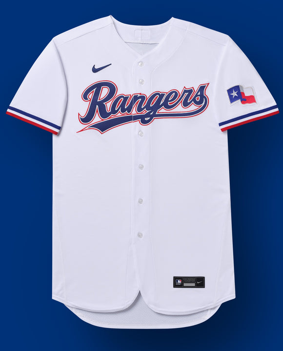 Texas Rangers White Home 2020 Team Jersey