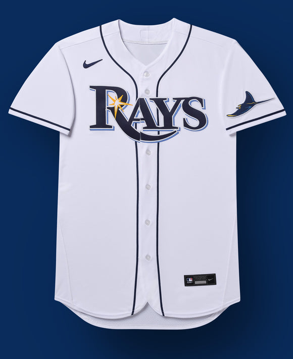 Tampa Bay Rays White Home 2020 Team Jersey