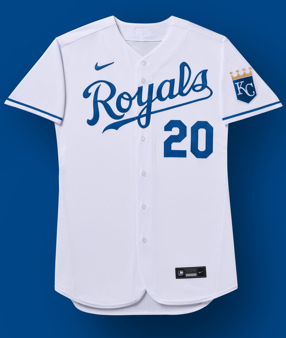 Kansas City Royals White Jersey