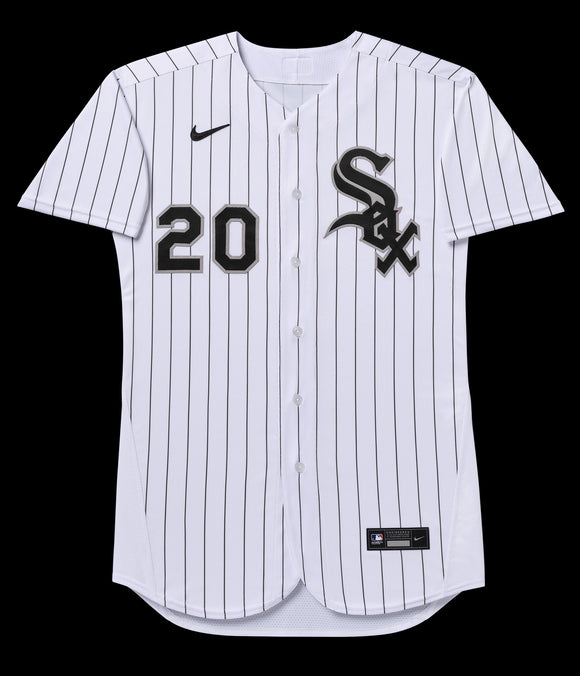 Chicago White Sox Home White / Pinstripe 2020 Team Jersey