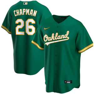 Oakland Athletics Kelly Green Alternate 2020 Team Jersey