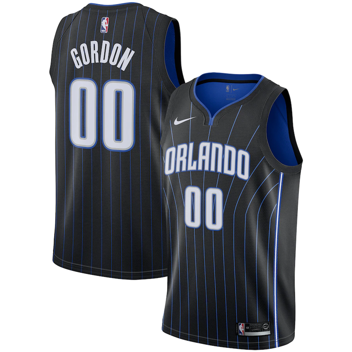 Orlando Magic Black Team Jersey - Statement Edition