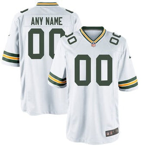 Green Bay Packers Away White Team Jersey