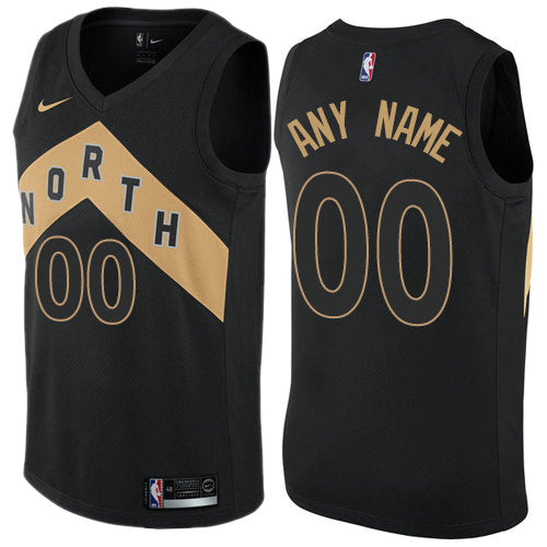 Toronto Raptors Black North Jersey - Chevron Edition