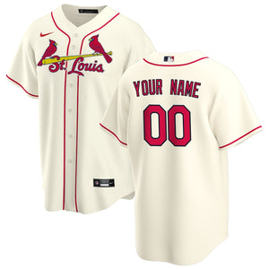 St. Louis Cardinals Cream Alternate 2020 Team Jersey