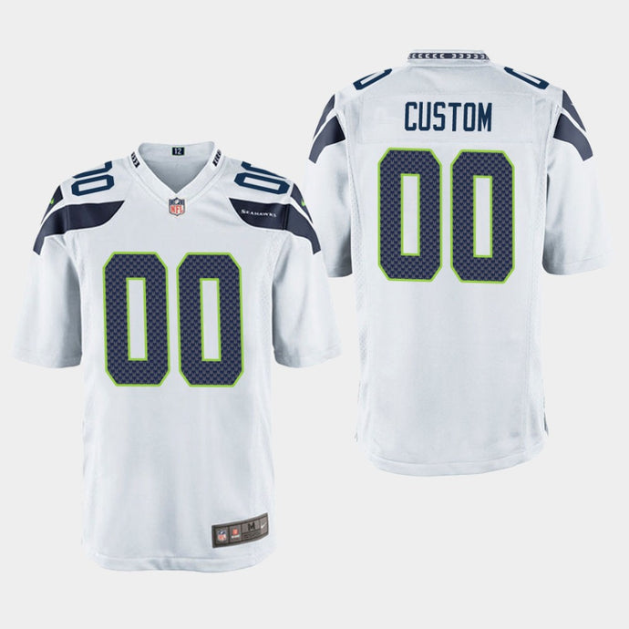 Seattle seahawks White Jersey