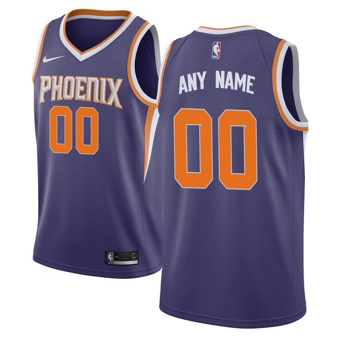 Phoenix Suns Purple Team Jersey - Icon Edition
