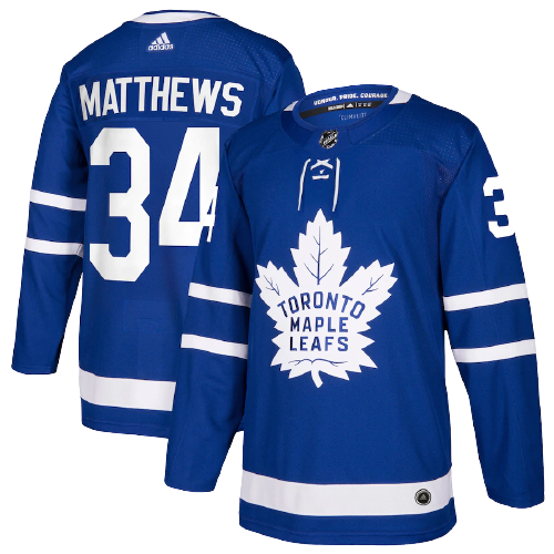 Toronto Maple Leafs Home Blue Jersey