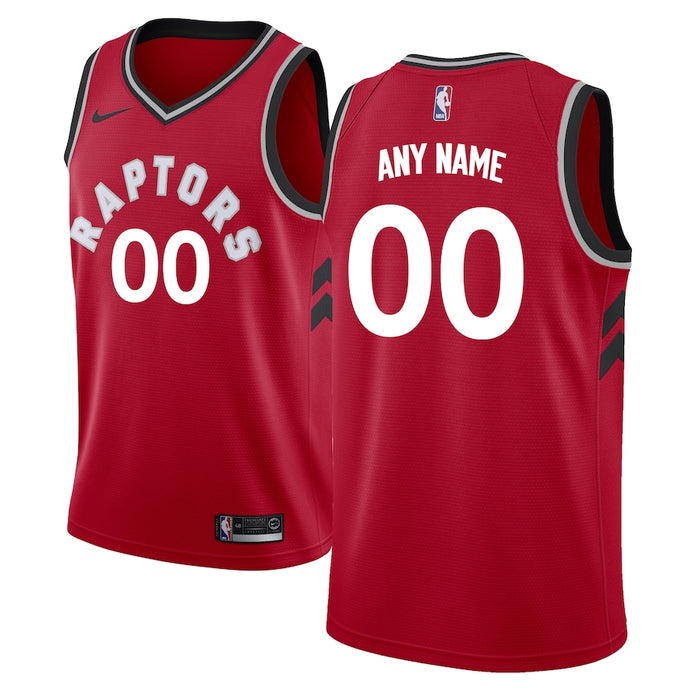 Toronto Raptors Red Team Jersey - Icon Edition