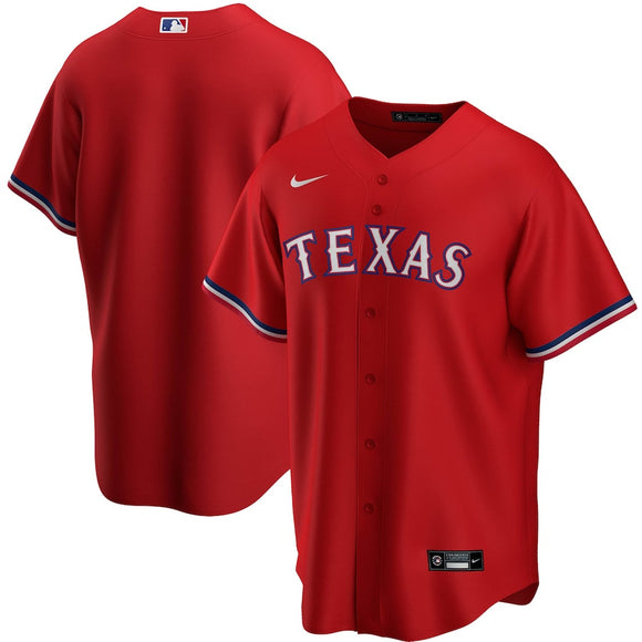Texas Rangers Red Alternate 2020 Team Jersey