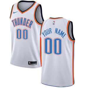 Oklahoma City Thunder White Team Jersey - Association Edition