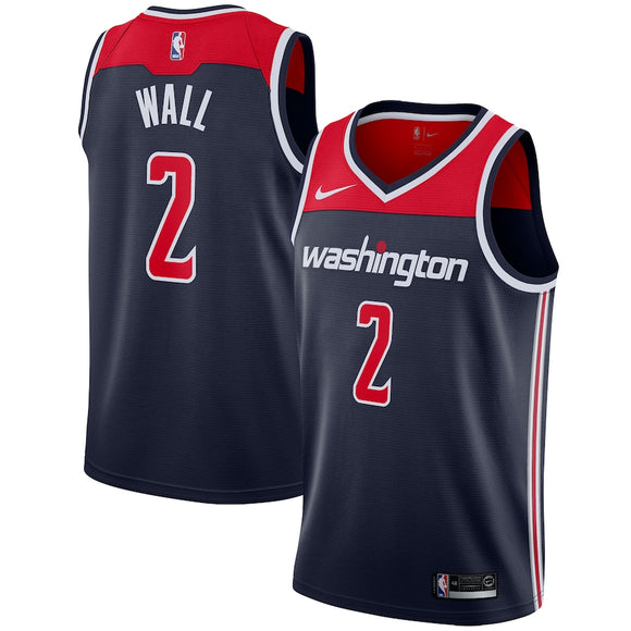 Washington Wizards Navy Team Jersey - Statement Edition