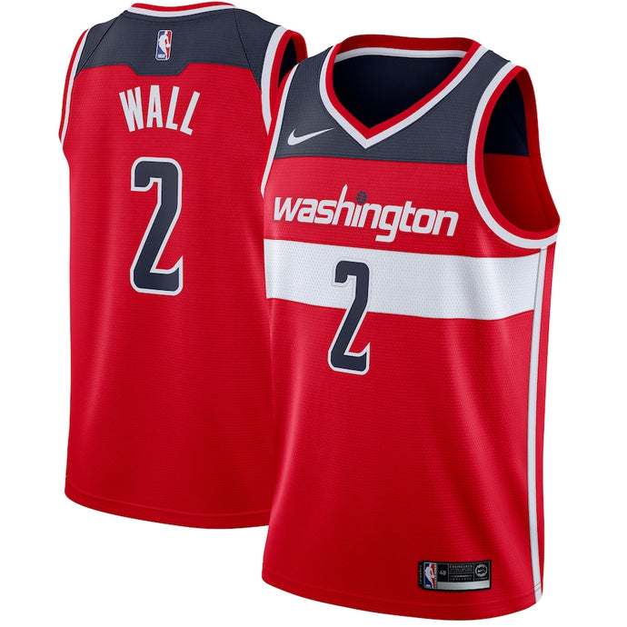 Washington Wizards Red Team Jersey - Icon Edition