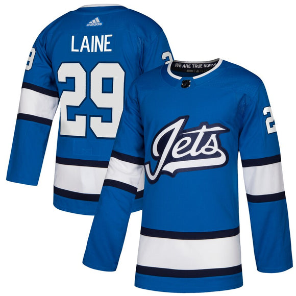 Winnipeg Jets Alternate Blue Team Jersey