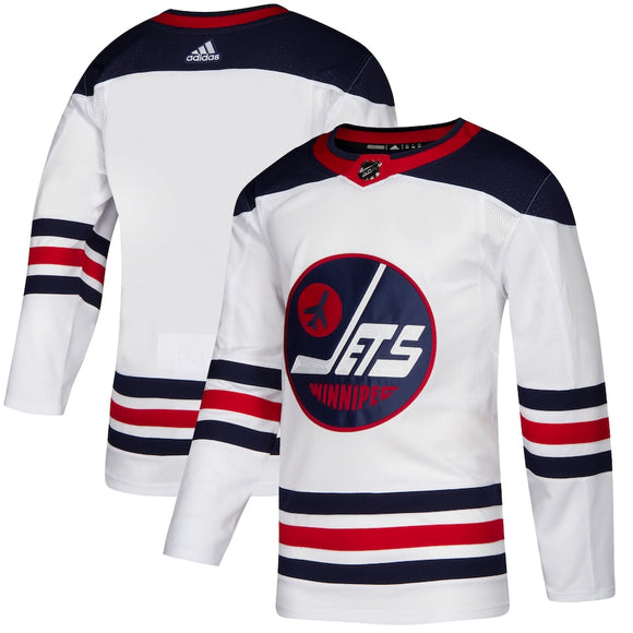 Winnipeg Jets Retro White Team Jersey