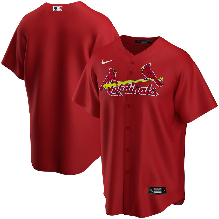 St. Louis Cardinals Red Alternate 2020 Team Jersey