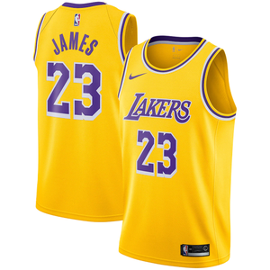 Los Angeles Lakers Gold Team Jersey - Icon Edition