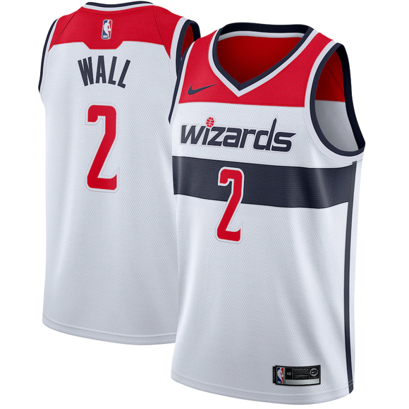 Washington Wizards White Team Jersey - Association Edition