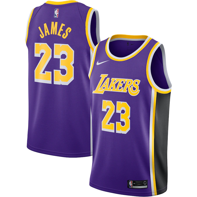 Los Angeles Lakers Purple Team Jersey - Statement Edition
