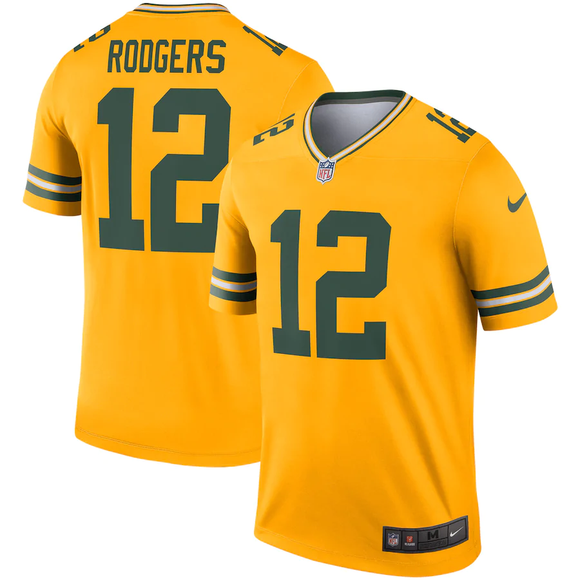Green Bay Packers Gold Alternate Team Jersey