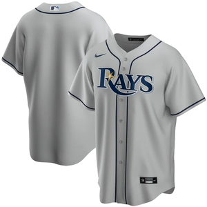 Tampa Bay Rays Gray Road 2020 Team Jersey