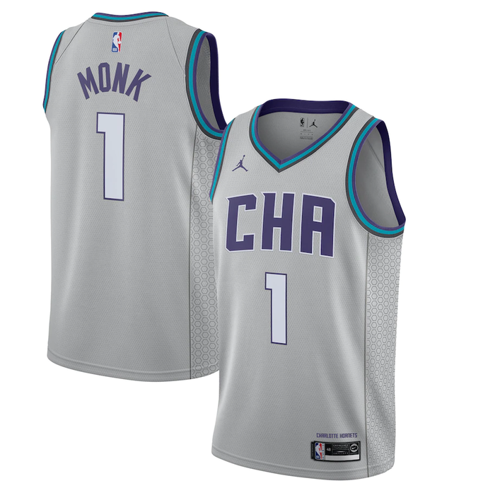 Charlotte Hornets Gray 2019/20 Team Jersey - Finished City Edition