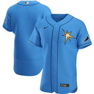 Tampa Bay Rays Limited Edition Light Blue Alternate 2020 Team Jersey