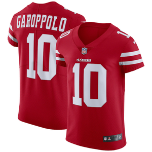 San Francisco 49ers Home Red Team Jersey