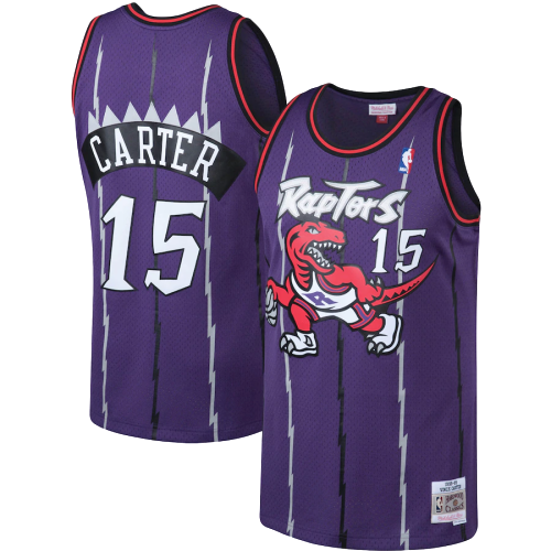 Toronto Raptors Purple Team Jersey - Hardwood Classics